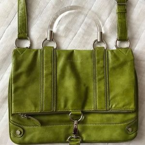 Vintage Melie Bianco Vegan Leather Handbag